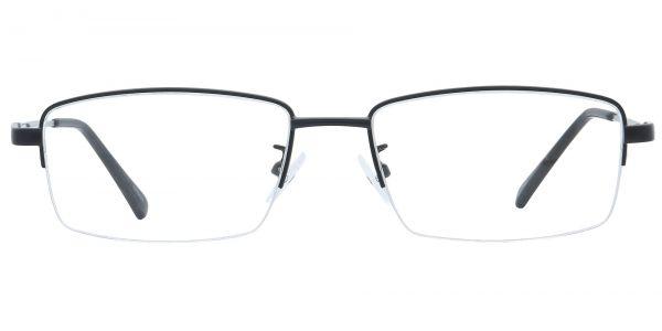 Zander Rectangle Prescription Glasses - Black