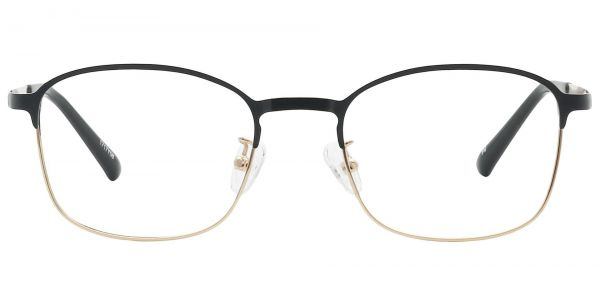 Carmen Square Prescription Glasses - Yellow