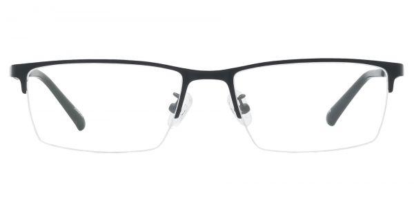Lombard Rectangle Prescription Glasses - Black