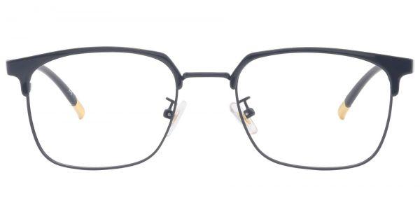 Renny Rectangle Prescription Glasses - Yellow