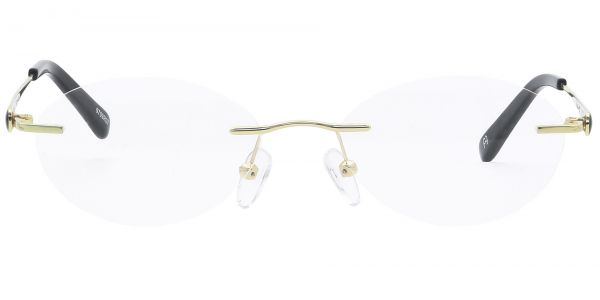 Christina Rimless eyeglasses