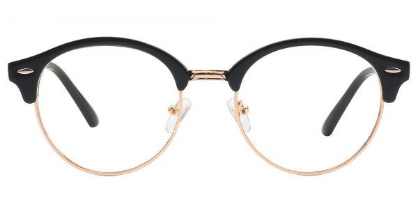Damon Browline Prescription Glasses - Black