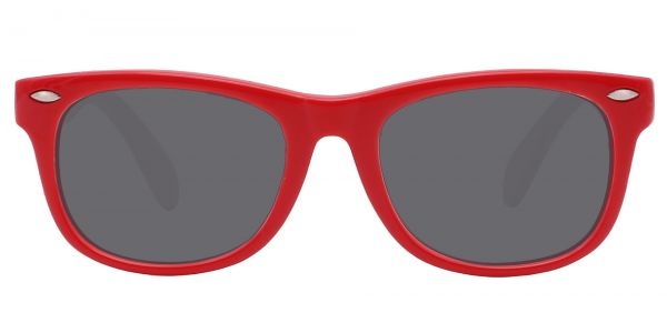 Wren Square Prescription Glasses - Red
