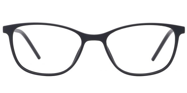 Hazel Square Prescription Glasses - Black
