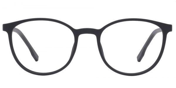Bay Round Prescription Glasses - Black