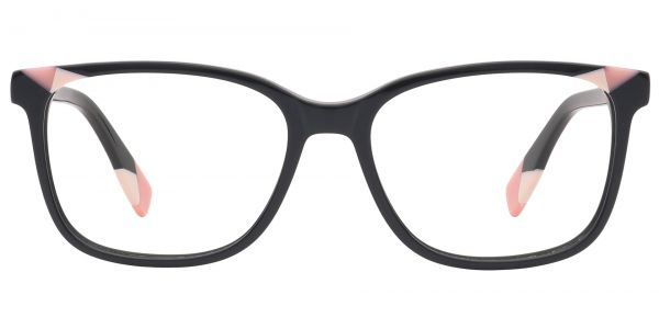 Odessa Square Prescription Glasses - Pink