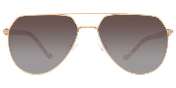 Wright Aviator Prescription Glasses - Yellow