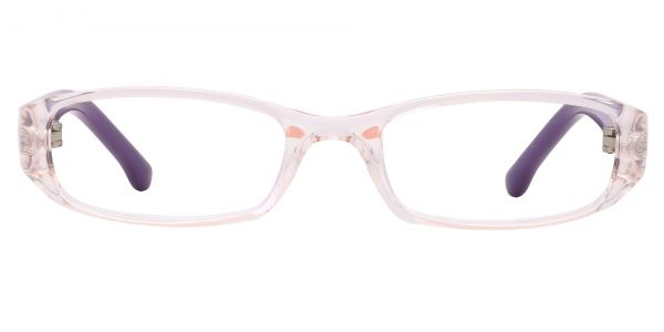 Laurel Rectangle Prescription Glasses - Purple