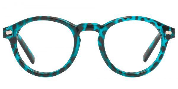 Vee Round eyeglasses
