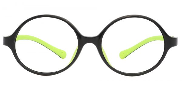 Dagwood Round Prescription Glasses - Black