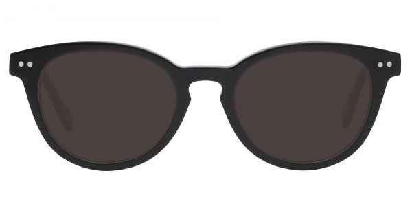 Forbes Oval Prescription Glasses - Black