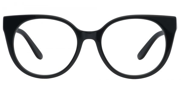Balmoral Cat-Eye Prescription Glasses - Black