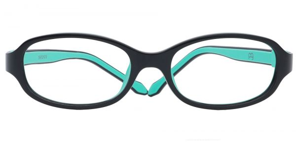 Toucan Rectangle Prescription Glasses - Black