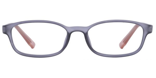 Kia Oval Prescription Glasses - Gray