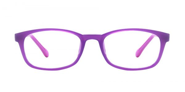 Violet Rectangle eyeglasses
