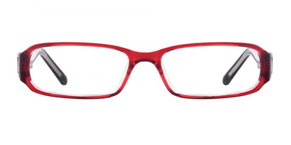 Coral Rectangle eyeglasses