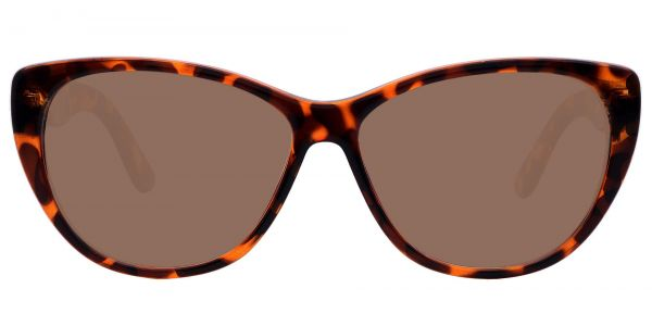 Lynn Cat-Eye Prescription Glasses - Tortoise-2