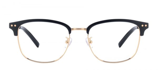 Cutler Browline Prescription Glasses - Black
