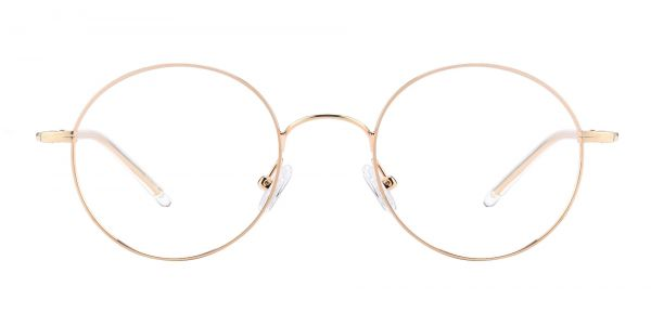 Plum Round eyeglasses