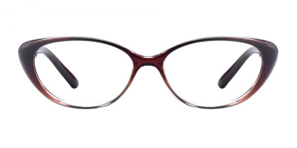 Josie Cat-Eye Prescription Glasses - Brown