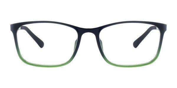 Ingram Rectangle Prescription Glasses - Green