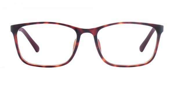 Ingram Rectangle Prescription Glasses - Tortoise