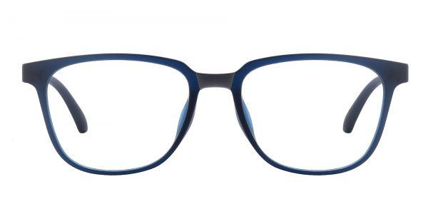 Cole Geometric Prescription Glasses - Blue