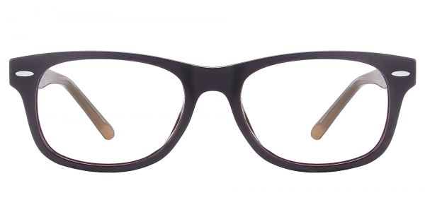 Milton Classic Square Prescription Glasses - Brown