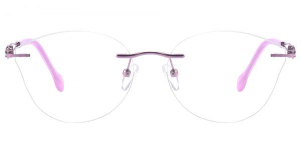 Teardrop Rimless eyeglasses