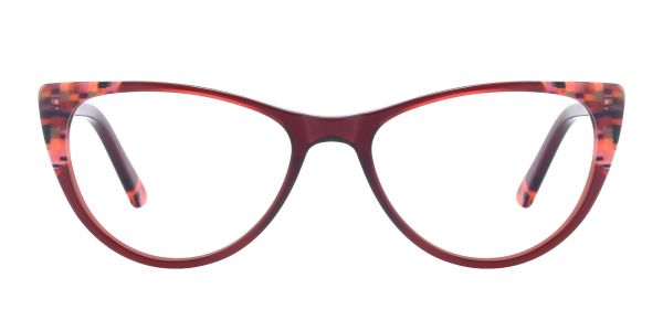 Plumeria Cat Eye eyeglasses
