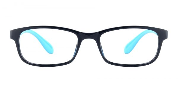 Amos Rectangle Prescription Glasses - Black
