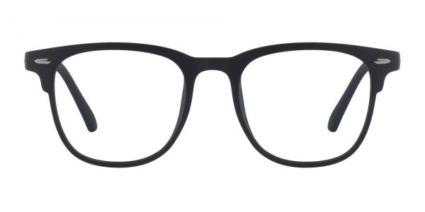 Bento Square Prescription Glasses - Black
