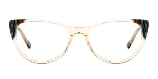 Plumeria Cat Eye eyeglasses