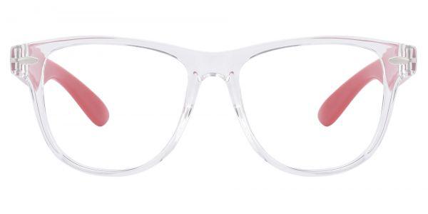 Radio Square Prescription Glasses - Clear