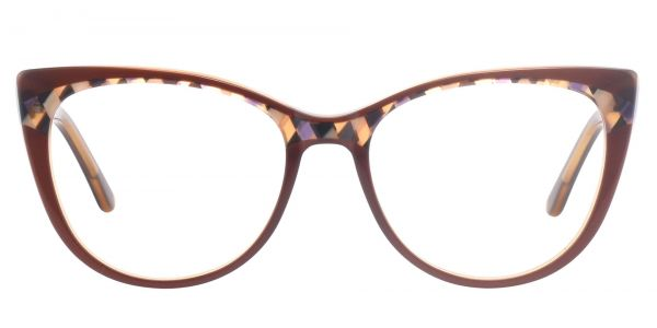 Cabernet Cat Eye Prescription Glasses - Brown