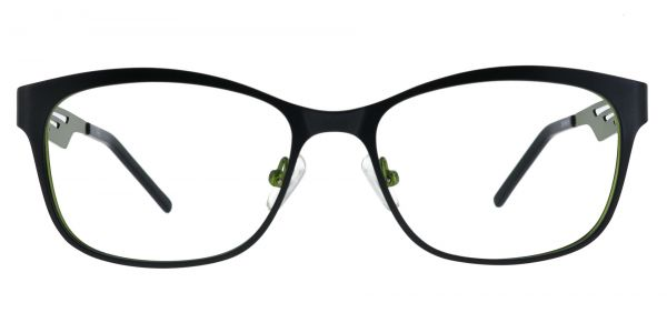 Farrow Rectangle Prescription Glasses - Black