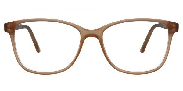 Argyle Rectangle Prescription Glasses - Brown
