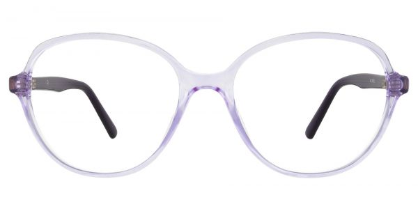 Luella Oval Prescription Glasses - Purple