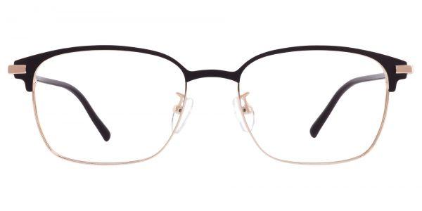 Scotland Browline Prescription Glasses - Black