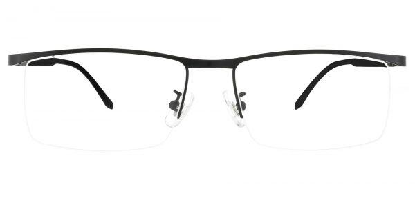 Forrest Rectangle Prescription Glasses - Black