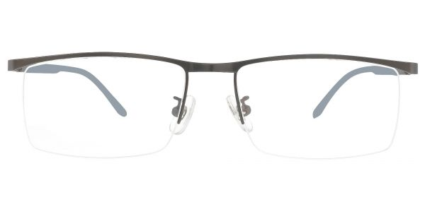 Forrest Rectangle Prescription Glasses - Gray