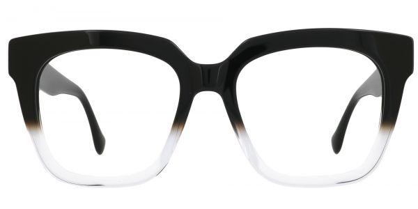 Lyric Square Prescription Glasses - Black