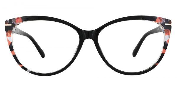 Maggie Cat Eye Prescription Glasses - Black