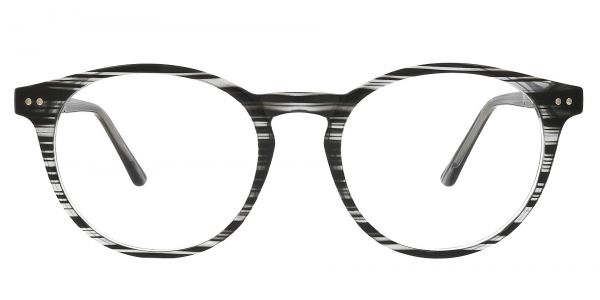 Dormont Round Prescription Glasses - Black