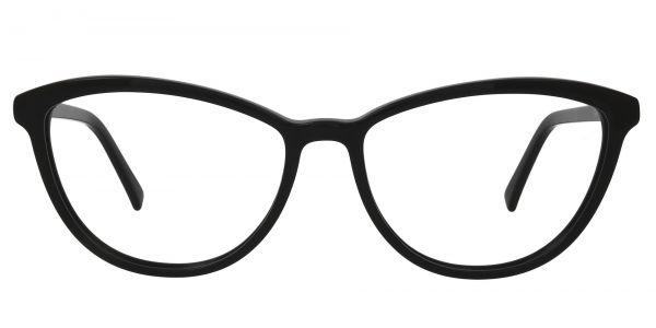 Annie Cat Eye Prescription Glasses - Black