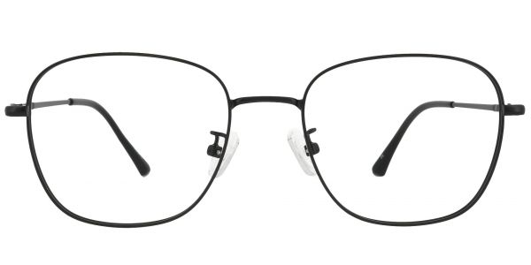 Fresno Square Prescription Glasses - Black
