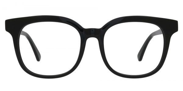 Tenor Square Prescription Glasses - Black