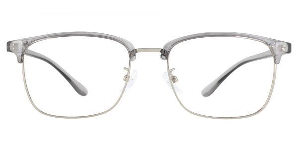 Simcoe Browline Prescription Glasses - Gray