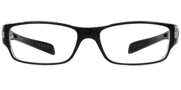 Mercury Rectangle Prescription Glasses - Black