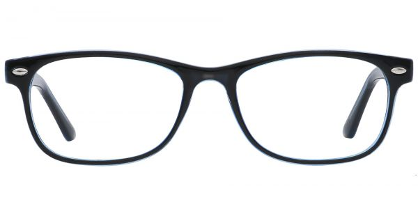 Village Rectangle Prescription Glasses - Black